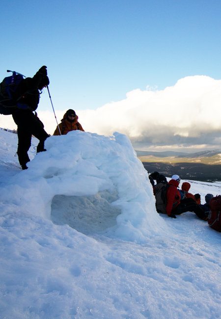 Winter Mountain Skills Course