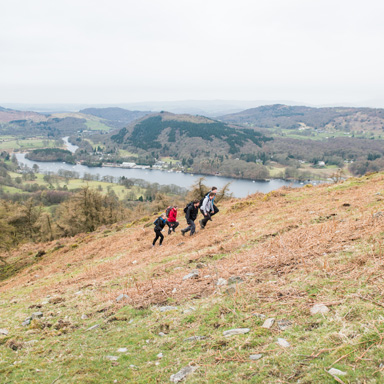 Hill walking image