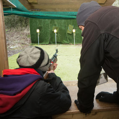 Rifle shooting image