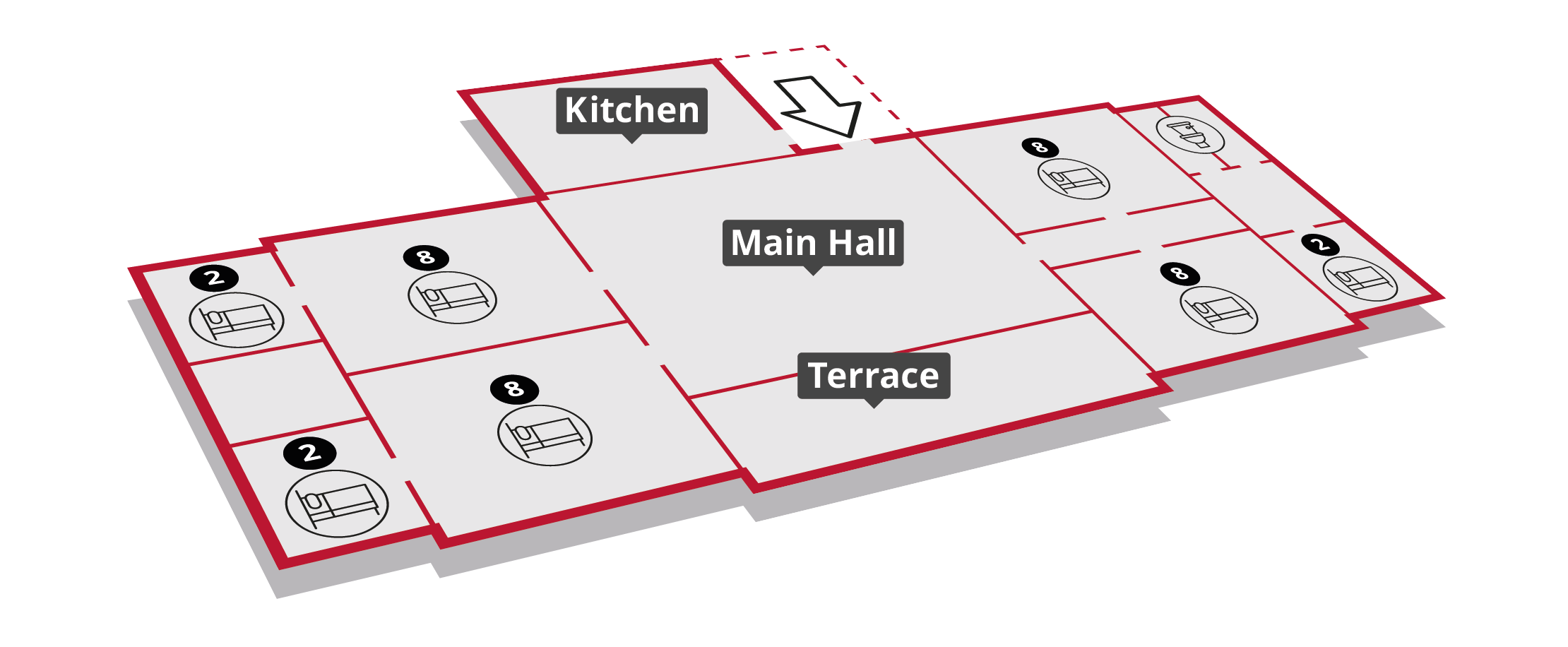 Bridger Lodge Floorplan