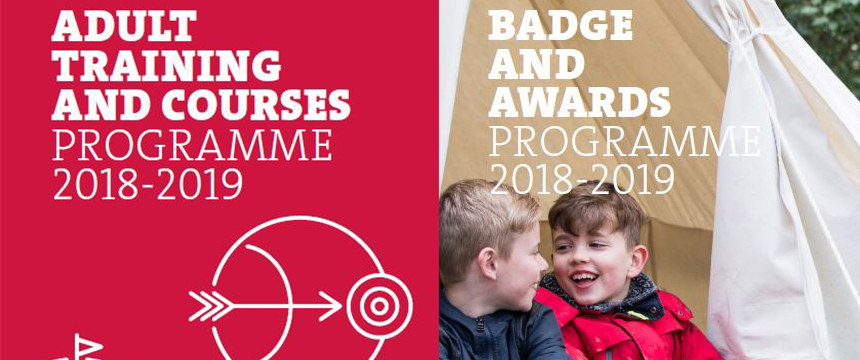 Badge, Awards and Adult Training Programme 2018-2019