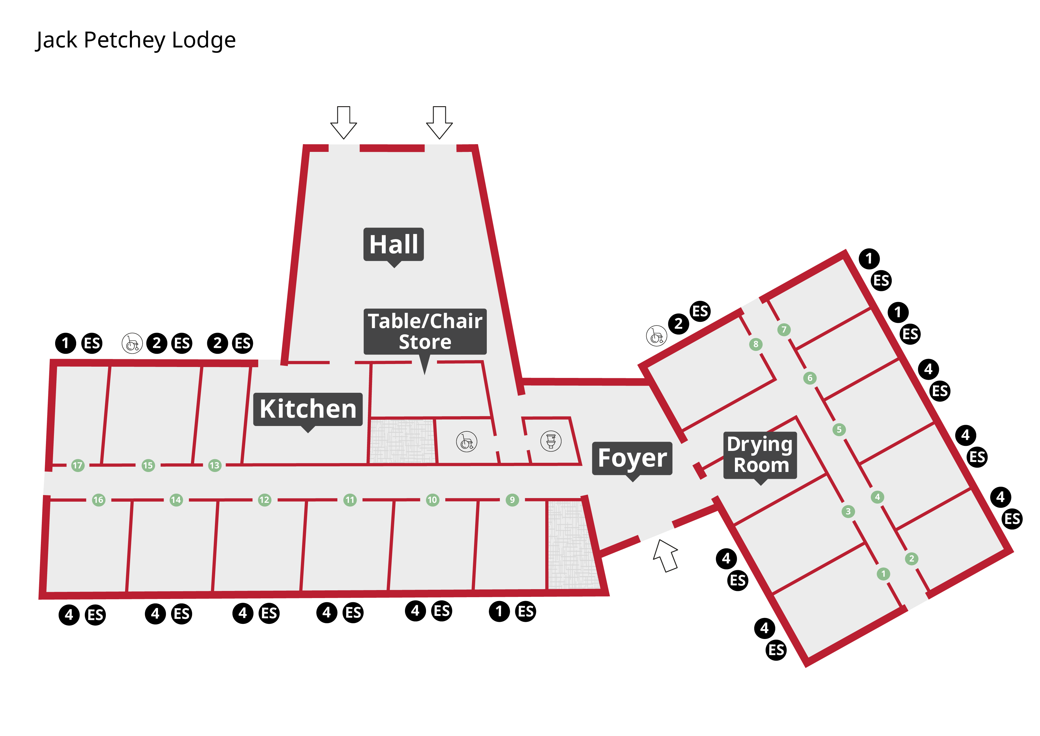 Jack Petchey Lodge Floor Plan
