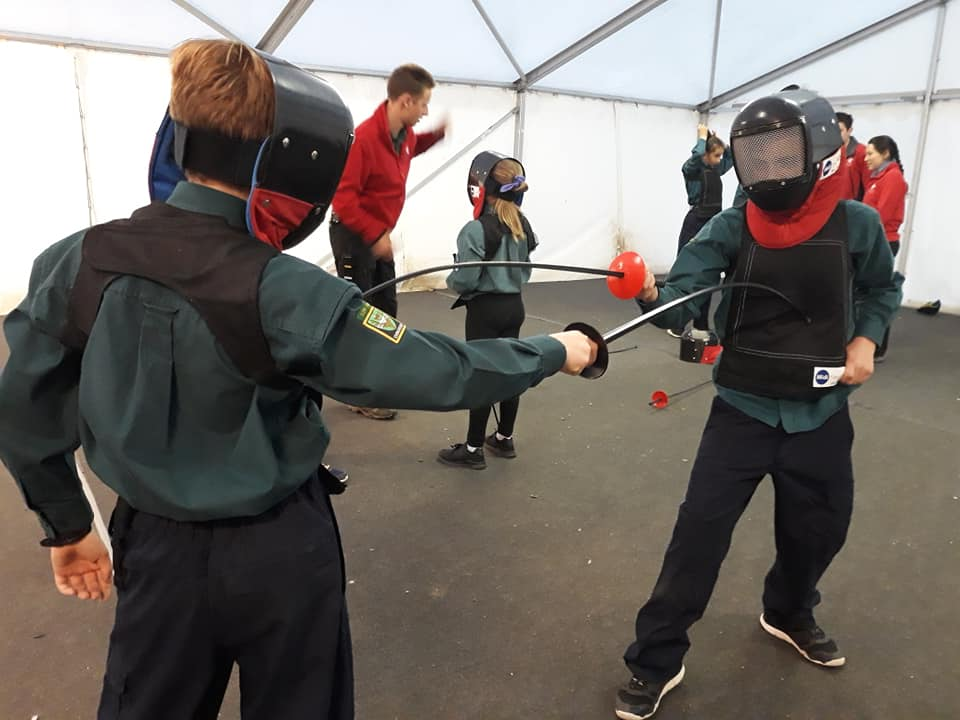 Fencing at Scout Adventures Gilwell Park