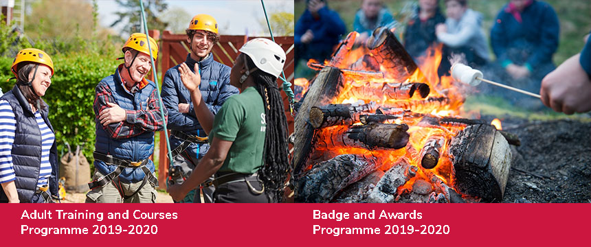 Adult Training, Courses, Badge and Award Programme 2020